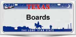 Texas boards